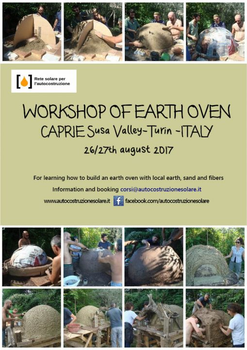 workshop oven earth_Italy. MediTERRE, the network of Mediterranean professionals of raw earth construction.