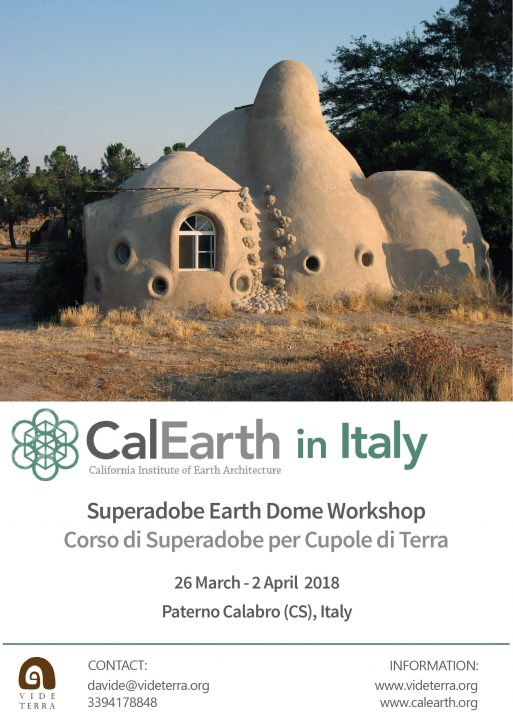Superadobe Earth Dome Workshop_MediTERRE, the network of Mediterranean professionals of raw earth construction.