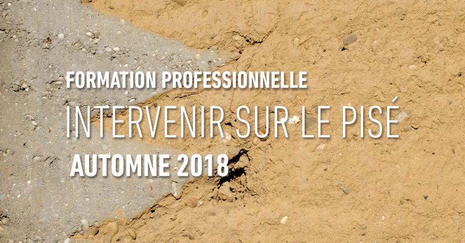intervenir sur le pise. MediTERRE, the network of Mediterranean professionals of raw earth construction.