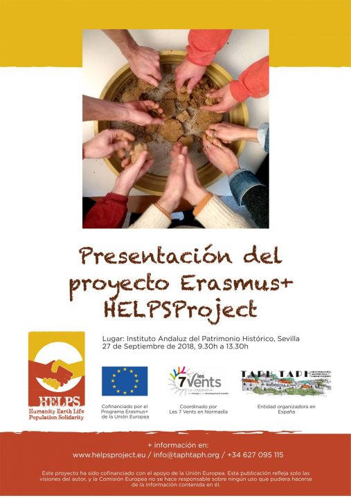 HELPS Project. MediTERRE, the network of Mediterranean professionals of raw earth construction.