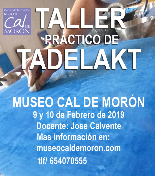 Taller tadelack. MediTERRE, the network of Mediterranean professionals of raw earth construction.