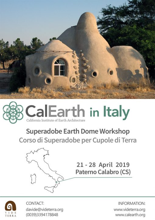 CalEarthItaly Calabria. MediTERRE, the network of Mediterranean professionals of raw earth construction.