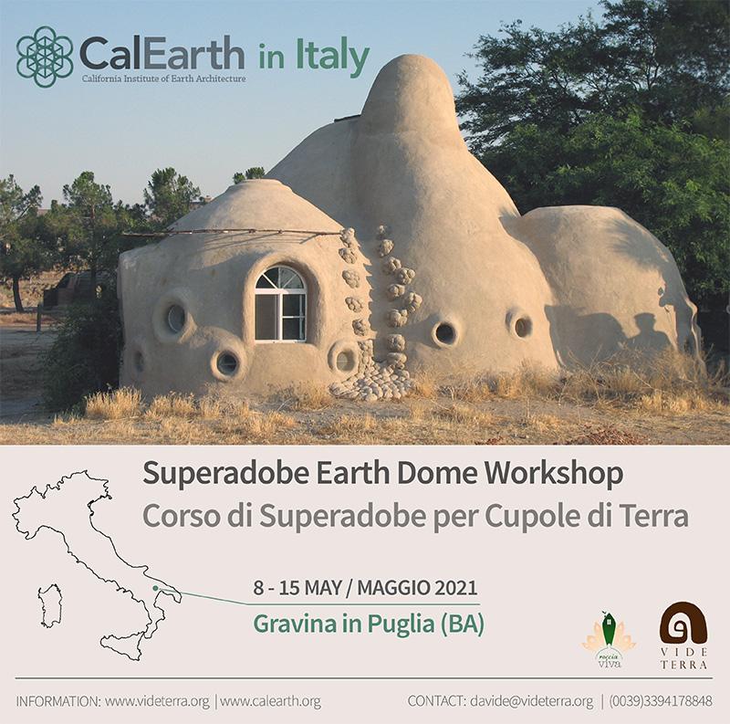 SuperAdobe. MediTERRE, the network of Mediterranean professionals of raw earth construction.